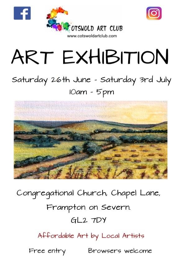CAC Frampton on Severn Exhibition